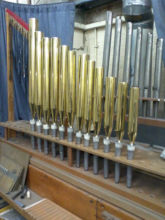 Brass clarinet