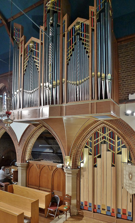 Contemporary organ