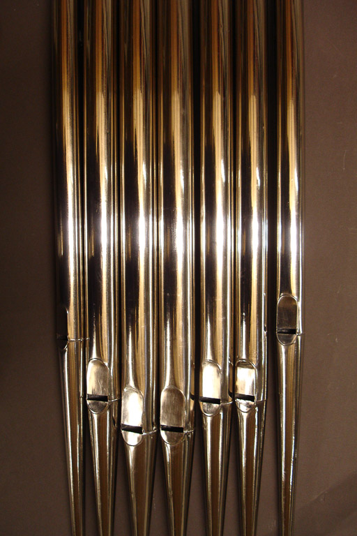 Zinc pipes after repair