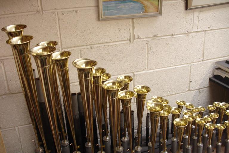 Brass Saxaphone