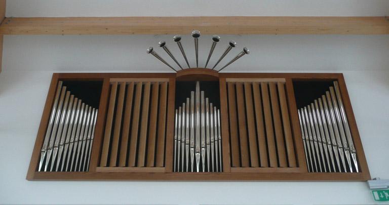 Organ in wood